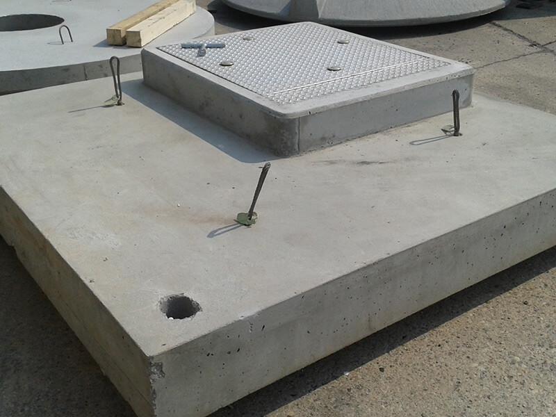 Abdeckplatten aus Beton