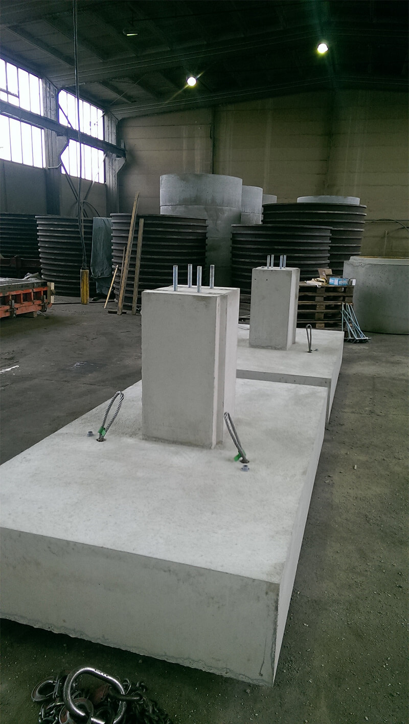 Fundamente aus Beton