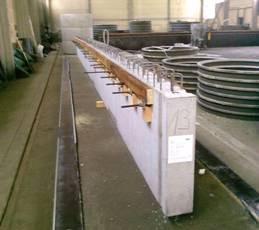 Trägerelemente aus Beton